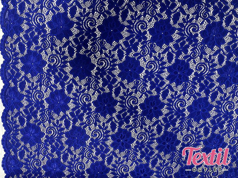 Dantela elastica albastra